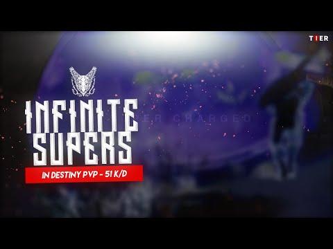 Infinite Supers in Destiny PVP + 51.0 K/D