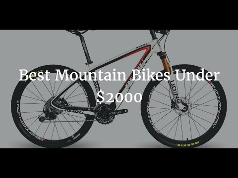 Best Mountain Bikes Under 2000 >> Best Mountain Bikes Under 2000 Youtube