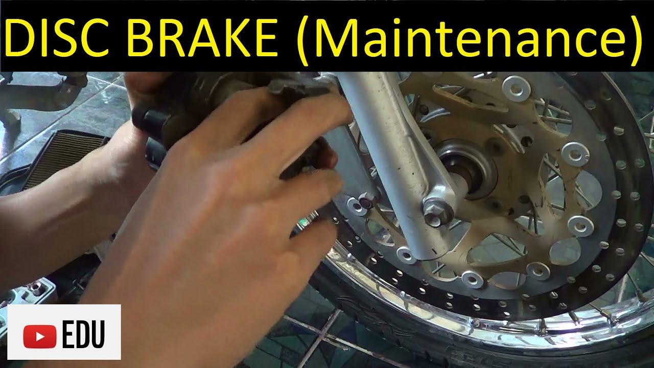 Cara Membongkar Membersihkan Dan Merakit Rem Cakram Sepeda Motor Dudukan Plat Nomor N Max Youtube