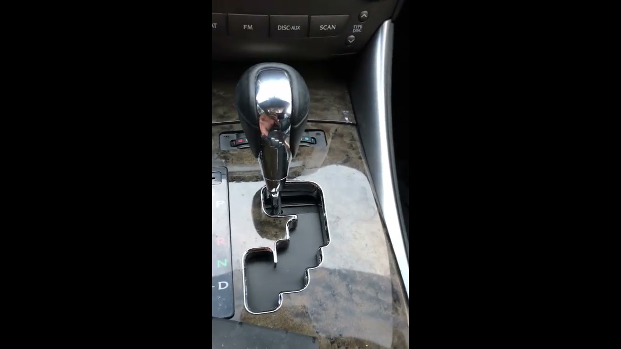 Lexus shifter indicator replacement