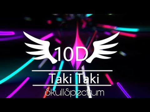 Dj Snake-Taki Taki 10D Sound  SkullSpectrum