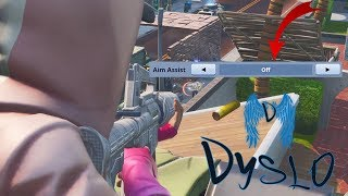 No Aim Assist on Controller is Aids.. (Fortnite Battle Royale)
