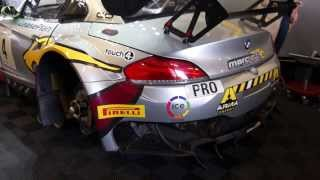 BMW Z4 GT3 MarcVDS Coldstart, top Sound FULL-HD