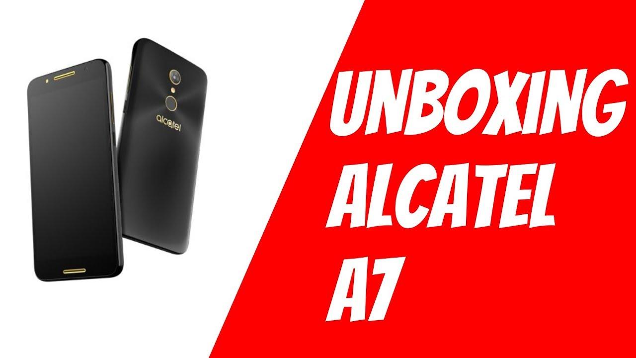 Alcatel A7 - Unpacking