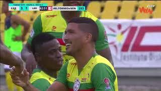 Real Cartagena vs. Leones (4-1) | Torneo Aguila 2019-I | Cuadrangulares Fecha 4
