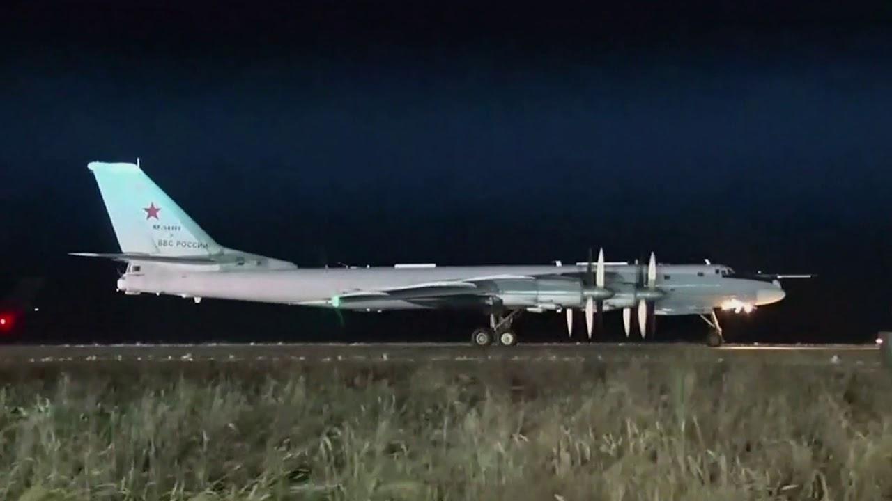 Кадры испытаний российской ядерной триады