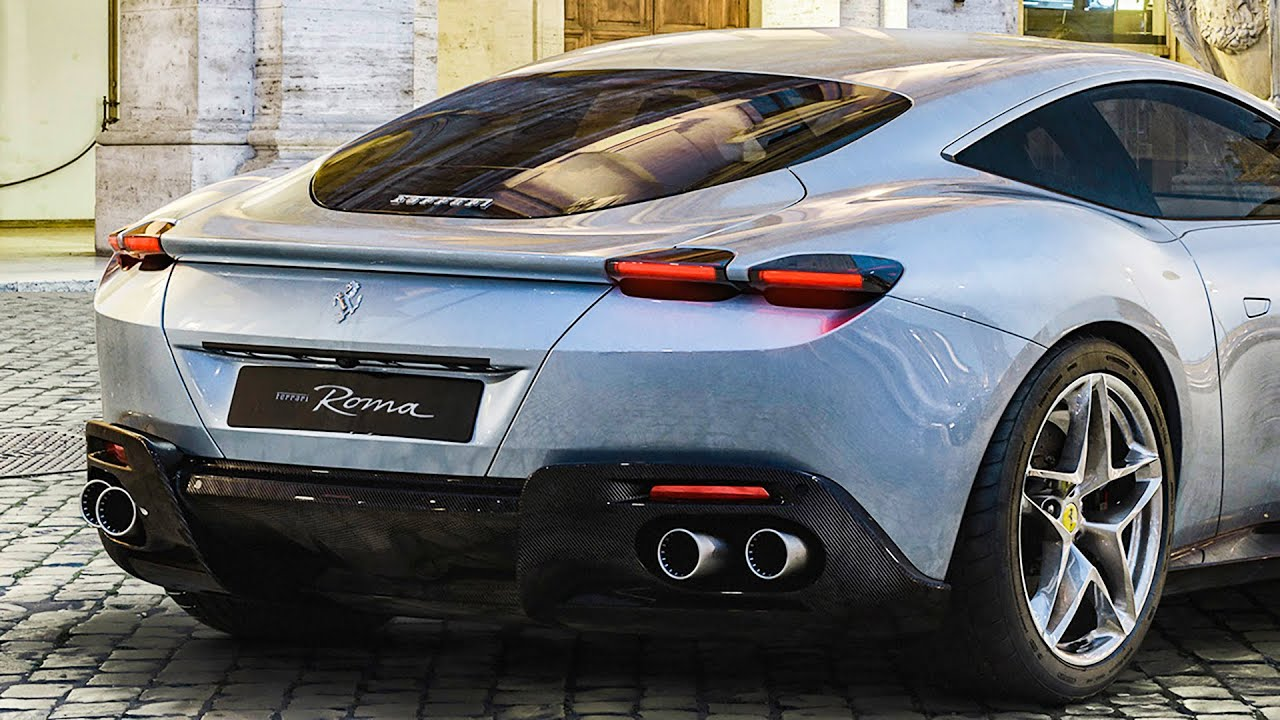 Ferrari Roma (2020) , First Look Engine Start,up, Specs, Interior \u0026  Exterior