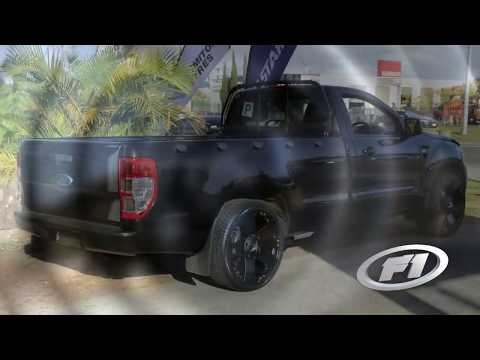 2013 Ford Ranger with custom rims 22 inch KMC Rockstars