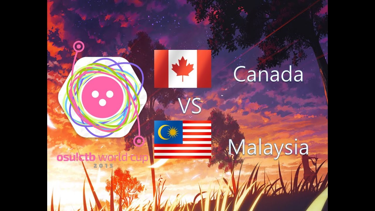 osu! Catch the Beat World Cup 2015 Group Stage - Group A - Canada vs  Malaysia