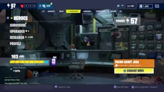 Live fortnite save the world trading/Giveaway