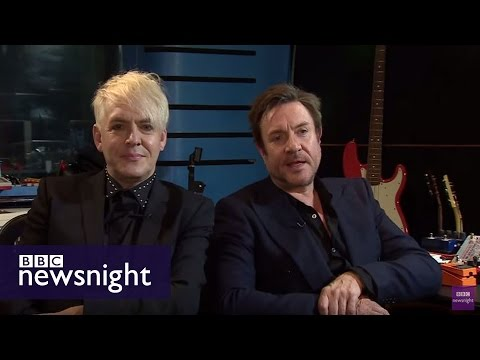 Quickfire questions with Duran Duran - Newsnight