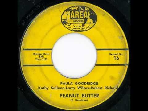 "Paula Goodridge & Company -- ""Peanut Butter"" (Area label, Rockland Records)"