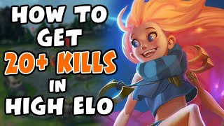 I got 20+ Kills on Zoe in High Elo, this is how I did it   Challenger Zoe - League of Legends