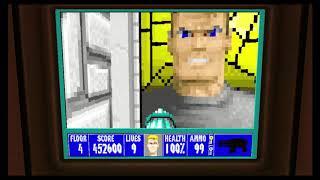 Wolfenstein 3D Episode 6 Floor 4