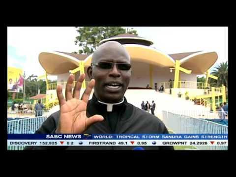 Security in Kenya has been heightened ahead of Pope Francis visit