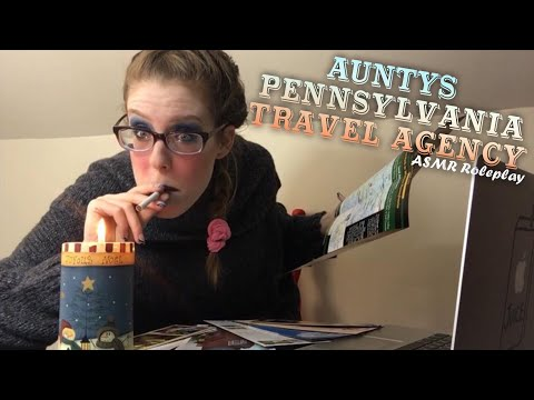ASMR PSYCHO AUNTYS PENNSYLVANIA TRAVEL AGENCY ROLEPLAY