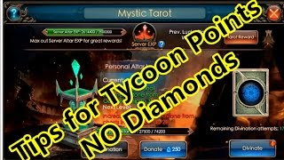 Legacy Of Discord- New Tips for Tycoon Point earning without diamonds