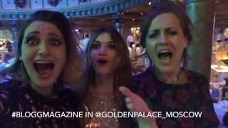 SKAKOVSKAYA & #BLOGGMAGAZINE in GOLDEN PALACE - Happy New Year 2017 с Новым годом Россия!