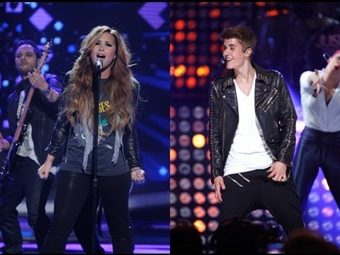 Justin Bieber Vs. Demi Lovato - Best Performance This Week?!?
