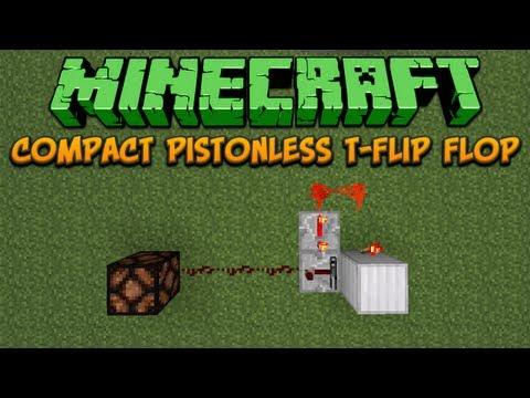 Compact Pistonless T-Flip Flop