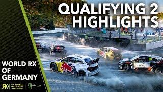 Qualifying 2 Highlights | 2018 World Rallycross of Germany