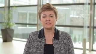 Kristalina Georgieva, EU Commissioner for Humanitarian Aid