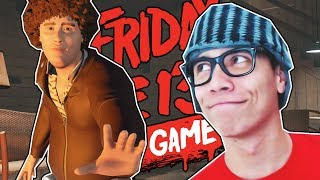 INCRÍVEL EPISÓDIO COM O SHELDON - Friday the 13th the Game