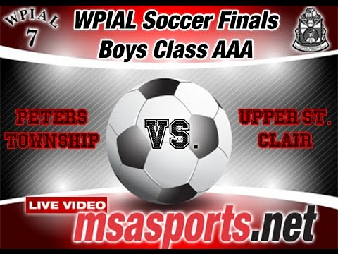 WPIAL Class AAA Boys Soccer Final: Peters Township / Upper St. Clair