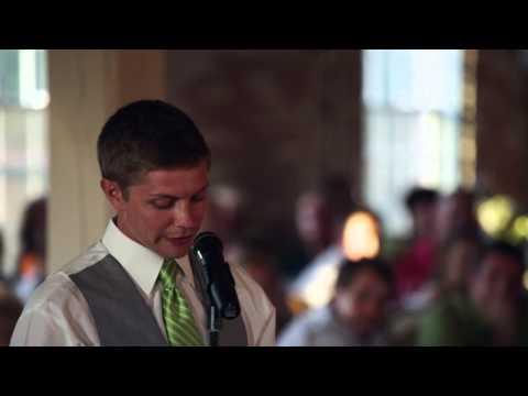 THE BEST Best Man Speech Ever! (7/12/13)