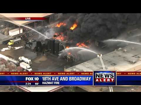 FNN: Massive Fire in Phoenix Coverage