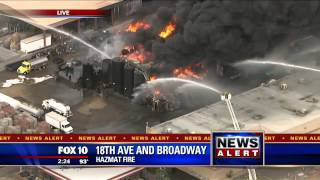 FNN: Massive Fire in Phoenix Coverage