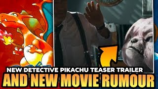 RUMOUR NEW Pokémon Movie Based On Red & Blue & New Pokemon Movie Teaser Trailer (Detective Pikachu)