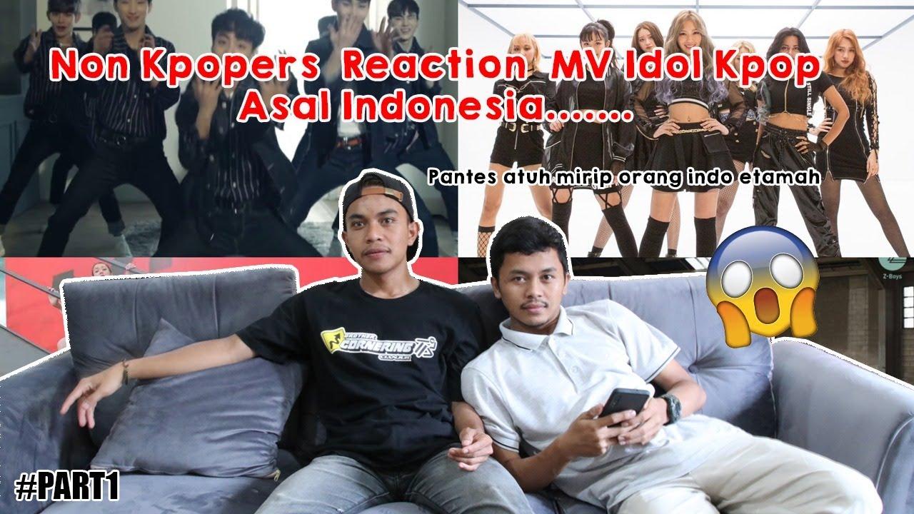 🇰🇷Non Kpopers Reaction MV Grup Idol Yang Punya Member Dari Indonesia!🇲🇨 Pt. 1