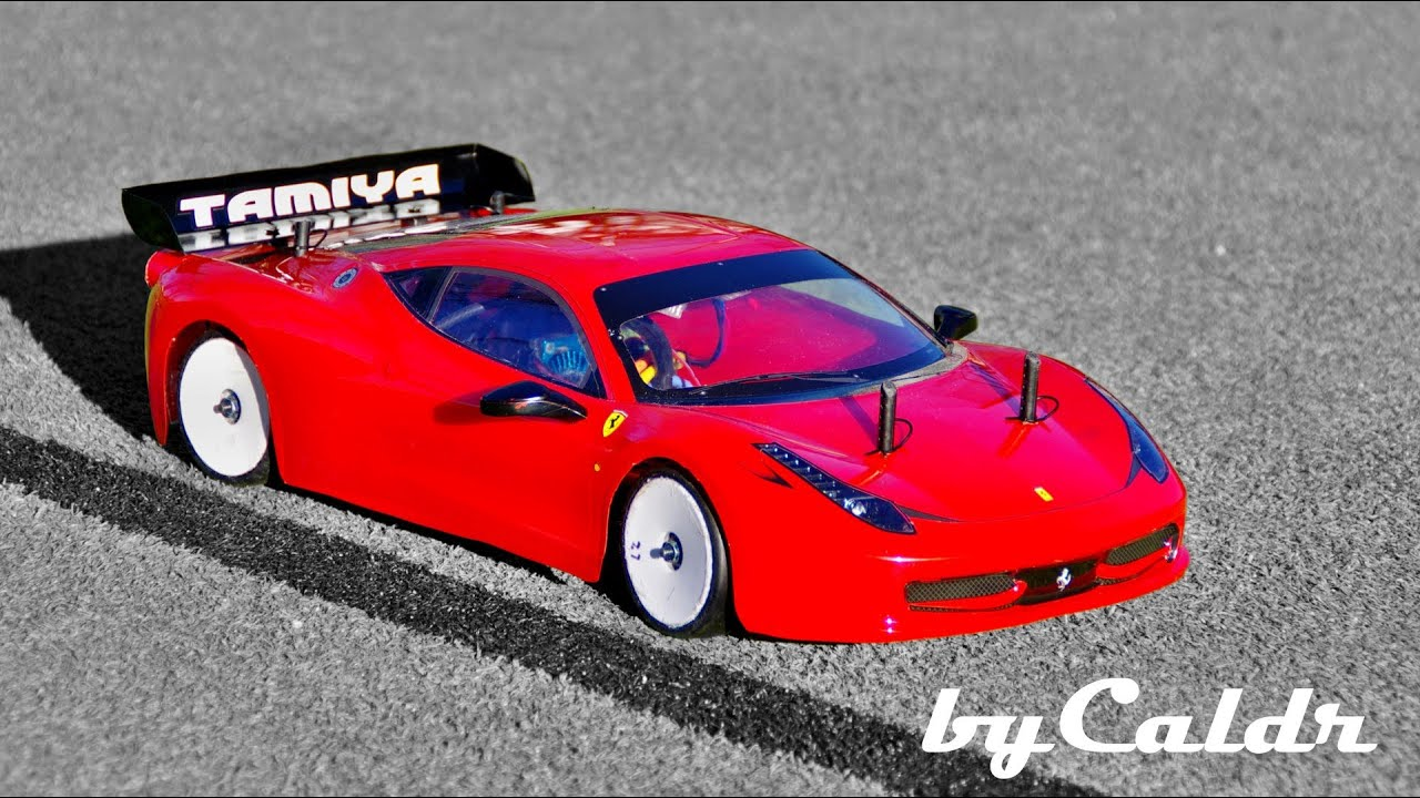 Tamiya Ferrari 458 Led Body Youtube