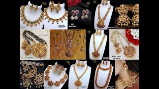 Good Quality 1 gram jewellery latest collection @ very low prices