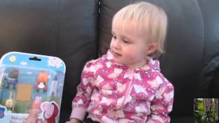 miley and me, review of pepper pig woodland playset