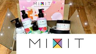 Распаковка косметики MIXIT май 2020 Уход за лицом телом волосами