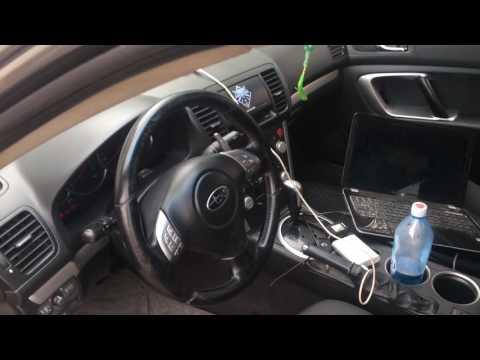 Чип тюнинг Subaru Legacy 2007 2,0 AT, отключаем катализаторы, EGR и клапан вторичного воздуха Астана