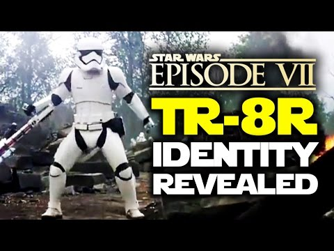 Star Wars The Force Awakens: TR-8R! The Story Of The Most Feared Stormtrooper | Star Wars HQ
