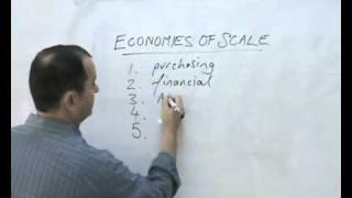 economies of scale - a quick explanation