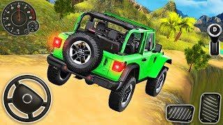 Offroad Jeep Driving Simulator - Luxury SUV 4x4 Prado Stunts - Android GamePlay #2 screenshot 4
