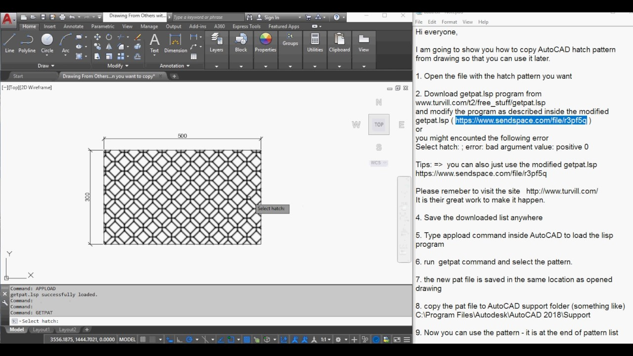 how to create pat files