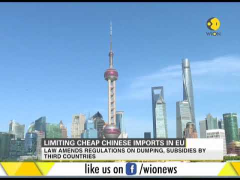 Limiting cheap Chinese imports in EU