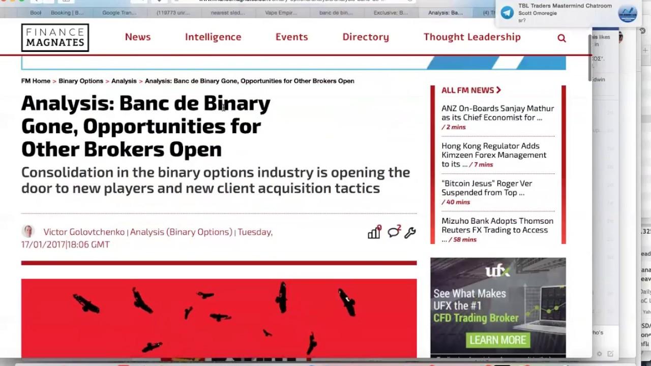 Banc De Binary Forum