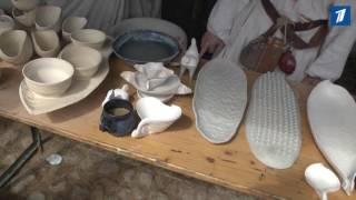 На Нарвских днях керамики была создана уникальная посуда