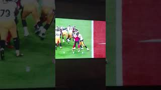 Ben Roethlisberger with Fake Fall. Basketball Moves on thefield.e