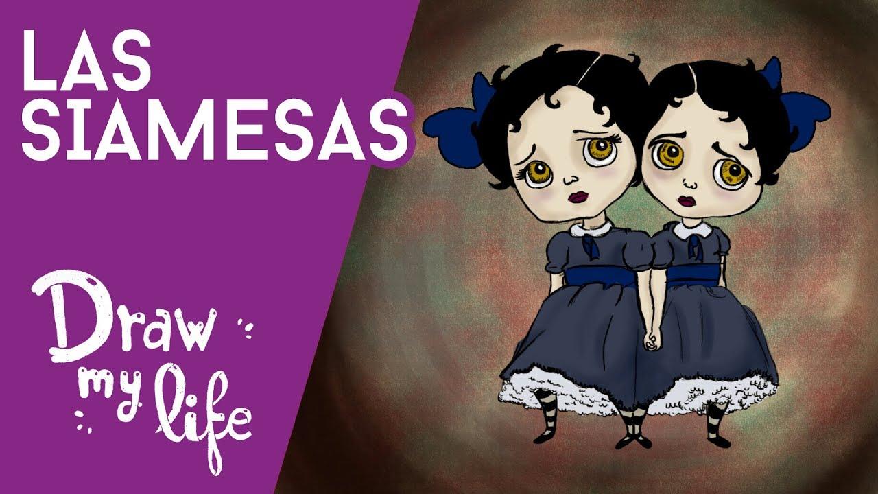 HISTORIAS de SIAMESAS   Creepy   Draw My Life