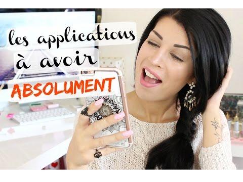 Les applications à avoir ABSOLUMENT + mes coques préférées !