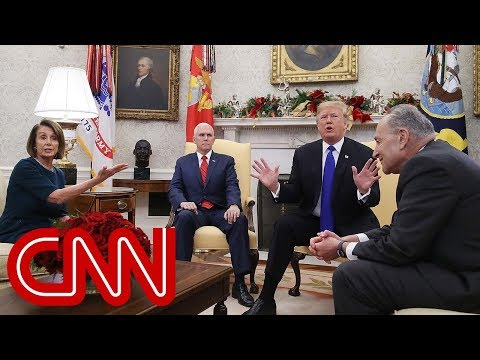 Cort Webber - Trump, Pelosi and Schumer get in heated debate in front of press