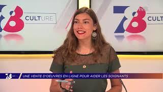 Yvelines | Une vente d'oeuvres en ligne pour aider les soignants